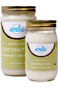 Embé Organic Virgin Coconut Oil